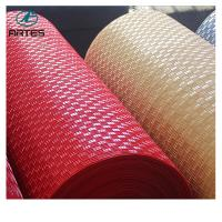 China Waterproof pvc car roll mat bronze 1.2*9m newest style plastic roll mat 1.43*9m thickness 5-8mm wholesale