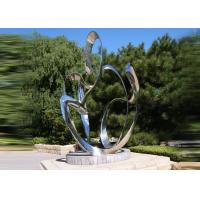China Custom Size Stainless Steel Sculpture For City Decoration OEM / ODM Acceptable wholesale