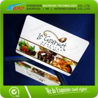 China CMYK print plastic gift/vip/membership card wholesale