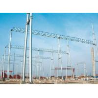 Buy cheap Substation structure, 500KV substation architecture for steel tower from wholesalers