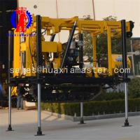 China New Condition and Diesel Power Type Borehole water well drill rig/XYD-130 crawler hydraulic water well drilling rig wholesale