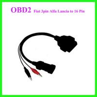 China Fiat 3pin Alfa Lancia to 16 Pin Diagnostic Cable wholesale