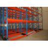 China Beverage Industry Galvanised Pallet Racking Motorized Movable Storage Racks wholesale