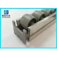 China Roller Track End Cap Aluminum Tubing Joints For Pipe Rack System AL-50 wholesale