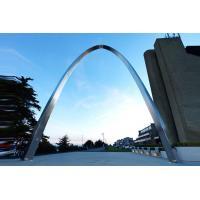 Buy cheap Contemporary Art Arch Design Stainless Steel Sculpture Polished Finish from wholesalers