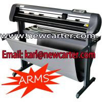 China Professional Vinyl Cutter With Contour Cutting 1200 Cutting Plotter With Arms Sign Cutters wholesale