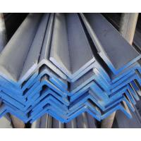 China Hot rolled and Hot dipped ss400 Q235 galvanized steel angle wholesale