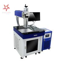 Metal Material UV Laser Marking Machine Rapid Speed With Long Life Span