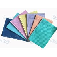 China Class I Disposable Dental Bibs Waterproof Square Shape 33 * 45cm For Patient wholesale