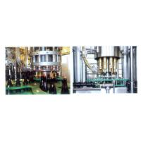 China High Power Wine Filling Machine , Drinking Water / Alcohol Production Line wholesale