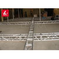 China 400x400mm Aluminum Square Truss For Background Decoration / Exhibition Display wholesale