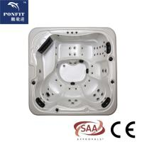 China ponfit 5 - 6 Persons (1 Lounges) hot tub spa with colorful acrylic wholesale