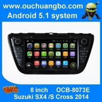China Ouchuangbo in dash dvd radio player android 5.1 for Suzuki SX4 S Cross 2014 with wifi 3g stereo bluetooth swc on sale
