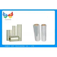 Quality Heat Shrink Pvc Wrapping Film Moisture Proof With Transparent / Light Yellow for sale