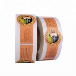 China Cosmetic Bottle Label Sticker Printing , Custom Sticker Sheet Printing on sale