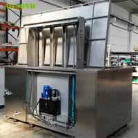 Buy cheap Automatic Ultrasonic Cleaner with Hydraulic Lift PLC Controlled for Wheel Rim from wholesalers
