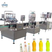 China Glass Bottle Carbonated Beverage Filling Machine 1000 Bph Filling Speed wholesale