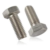 Buy cheap ASME B18.2.1/2 Hex Bolts / Inconel 825 Alloy Steel Fasteners High Precision from wholesalers