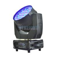 China Vizi Wash Pro RGBW 19 X 15W LED Wash Moving Head For Theater High Efficiency wholesale