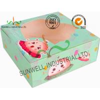 China Disposable Cardboard Food Packaging Boxes , Personalised Cardboard Takeaway Boxes wholesale