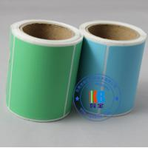 China Thermal ribbon printing waterproof feature adhesive color art coated printing paper wholesale