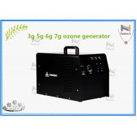 China Black Commercial Ozone Generator 3g 5g 6g 7g O3 Air Purifier Deodorizer With CE on sale