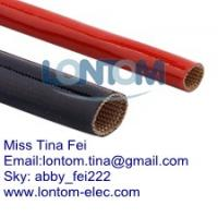 China Insulation Silicone Flex Glass Sleeving wholesale