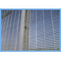 China Security Wire Mesh Fence Panels , Galvanized Welded Wire Mesh Thick Zinc Coating wholesale