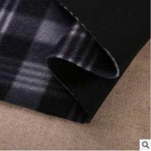 China Knitted fabrics compound Single cashmere fleece nap composite fabrics wholesale