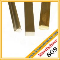 different shape copper extrusion section Manufactures