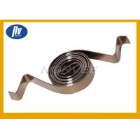 China Stainless Steel 301 Industrial Torsion Spring , Spiral Power Spring For Motor on sale