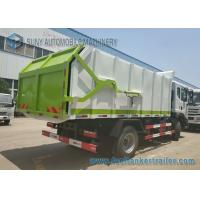 China Diesel Hooklift Rubbish Compactor Truck 4x2 Drive Refuse Truck For Industrial Enterprises And Residential Area wholesale