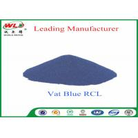 China 100% Purity Blue Vat Dye RCL Vat Dyes Dyestuffs Powder For Cotton Fabric wholesale
