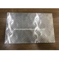 China Five rib pattern embossed aluminum sheet used in truck and ship wholesale
