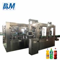China Automatic Cold Drink Bottle Filling Machine / Carbonated Water Filling Machine wholesale