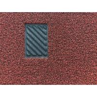 China Double color pvc coil car mat carpet with non skid nail backing wholesale