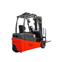 Buy cheap Red Color Three Wheel Electric Forklift AC Motor Power Souce CE Approval For from wholesalers