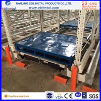 Radio Shuttle Rack with High Quality Pallet Runner CE standard FIFO or FILO; various temperature, color customized Manufactures