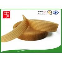 China Silk printing strong velcro straps for cable ties , One side fabric hook and loop fasteners wholesale