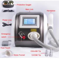 China 1064nm 532nm Laser Pigment Removal / Tattoo Removal Machine Multifunction 1000mj wholesale