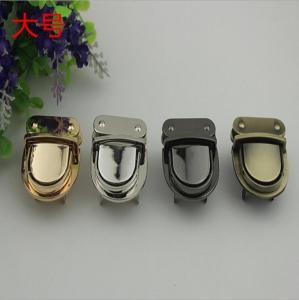 China 2018 New style high quality various colors zinc alloy handbag push locks wholesale