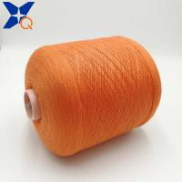 Quality Orange Ne21/2plies 10% stainless steel blended 90% polyester for knitting touch for sale