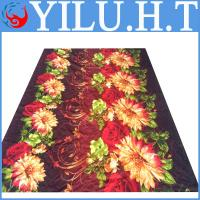 China 2014 new design wholesale price indian printed polyester bedsheets wholesale