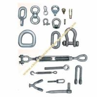 China Rigging & Other Forged Parts, Wire Rope Shackles wholesale