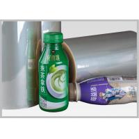 China Roll Heat - Shrink Sleeve Label PVC Shrink Film With Bright Surface Luminance wholesale