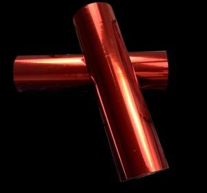 China Matt red color metallized bopp lamination film two sides corona treatment wholesale