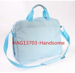 China Handheld Personal Computer Bag Bule Color Briefcase-HAG13703 wholesale