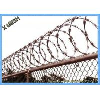 China Stainless Steel Spiral Concertina Razor Barbed Tape Wire Hot Dipped Galvanized wholesale