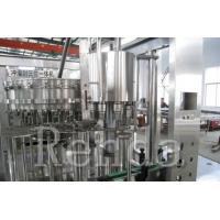 China Soft Drink Beverage Carbonated Drink Filling Machine Cola Glass Bottle Washing / Filling / Capping on sale