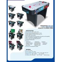 China 11 In 1 4 FT Multi Game Table Air Hockey Basketball Table For Competition on sale